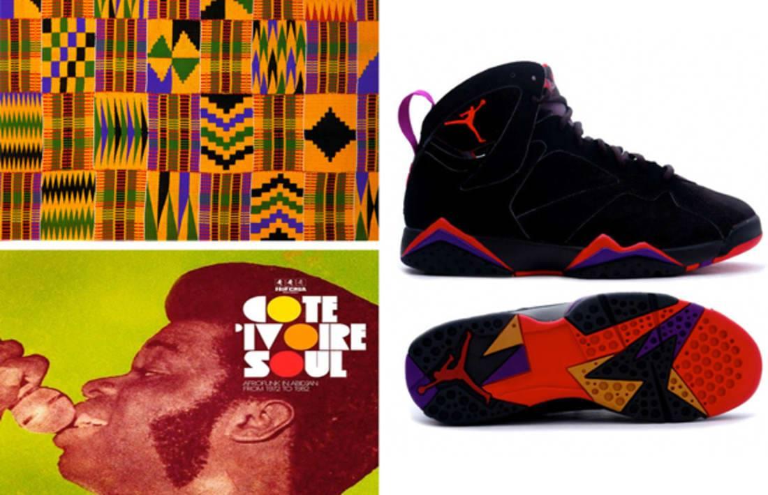 LE SAVIEZ-VOUS… La Air Jordan 7 comme un air d'afro pop
