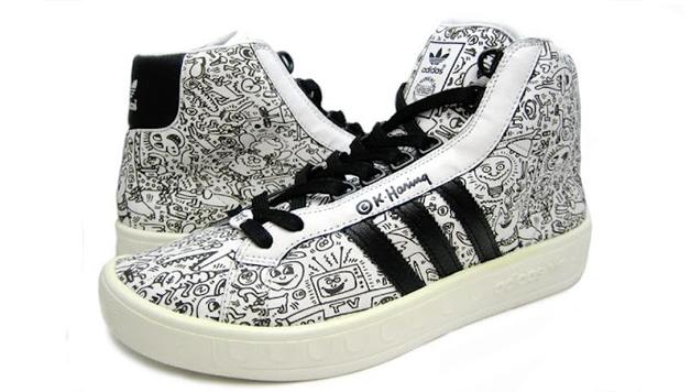 "Le saviez-vous… Jeremy Scott x ADIDAS Adicolor ""Keith Haring"""