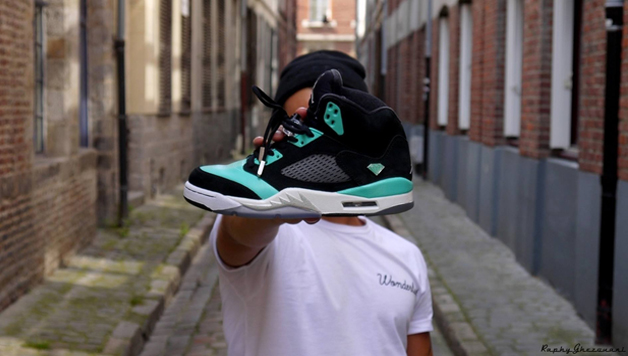 La Jordan V Tiffany by Raphy