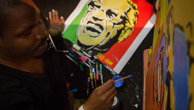 Fred Ebami de la sneakers au graphic art…