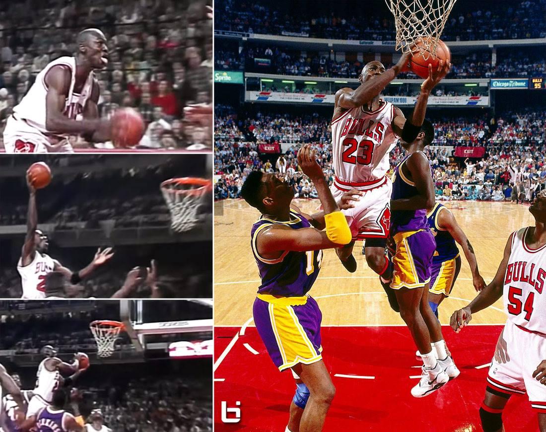 "Le saviez-vous… Michael Jordan ""Swishing Hands"""