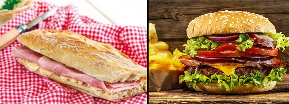 Jambon Beurre vs Burger